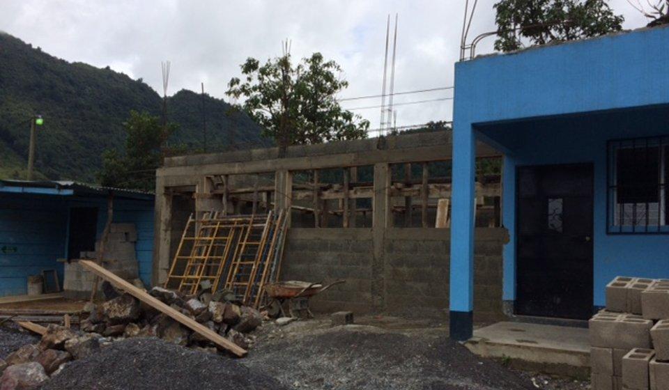 Vida Nueva Classroom Construction
