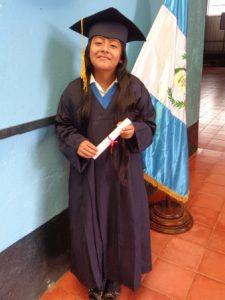 Zoila's elementary graduation