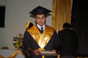 Eliseo graduating