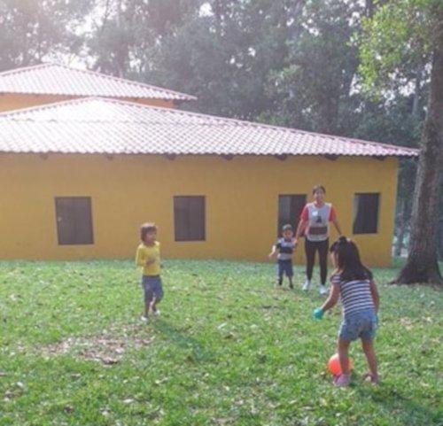 children playing at Vida Children's Home