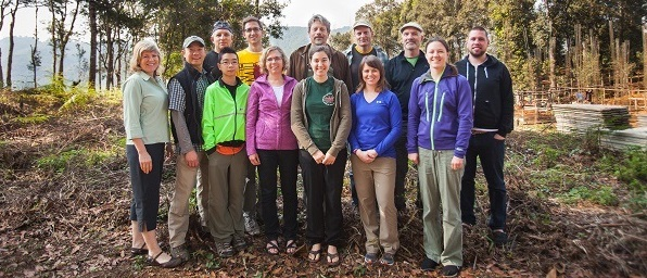 Page - Team Group photo on site - narrow cropped