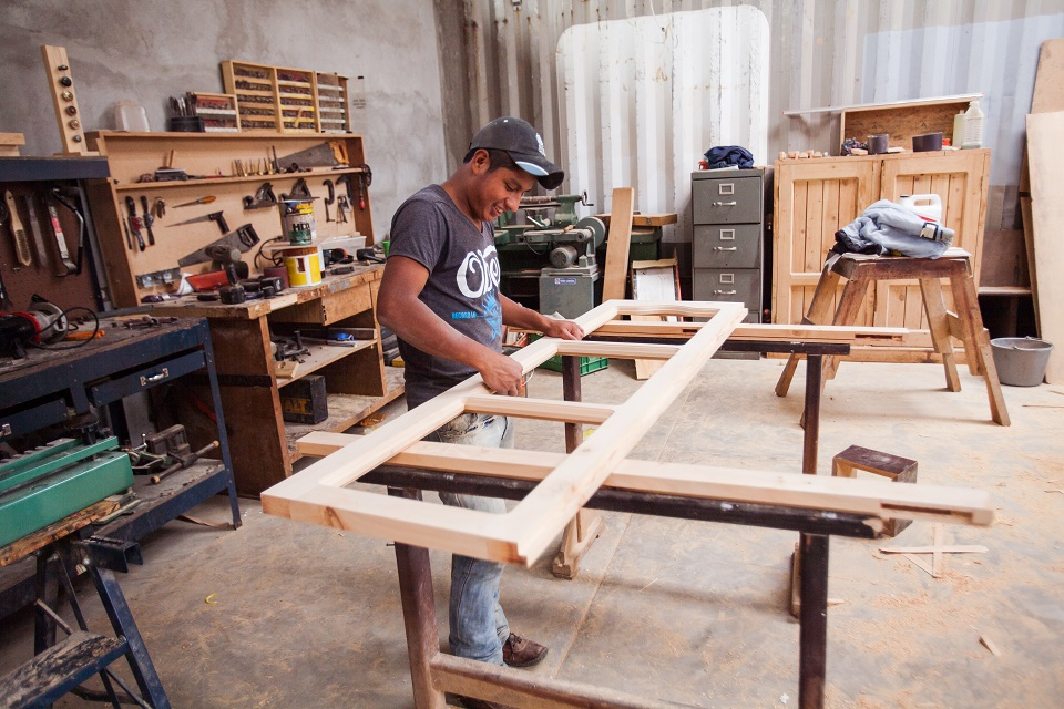 The Woodworking Shop In Action Impact Ministries Canada