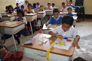 Vida Students in Classroom
