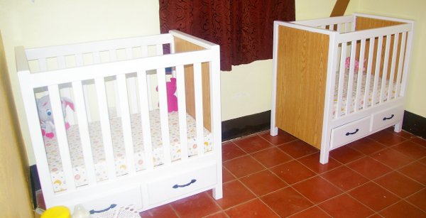 Vida Children's Home cribs ready for babies